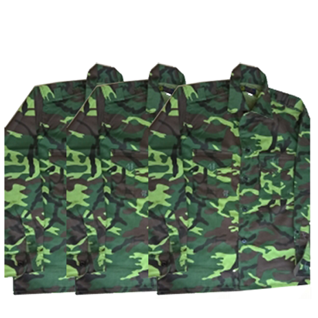 May áo quần quân nhân